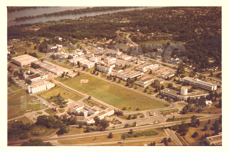 Montreal Road Campus Aerial View 1960's 004