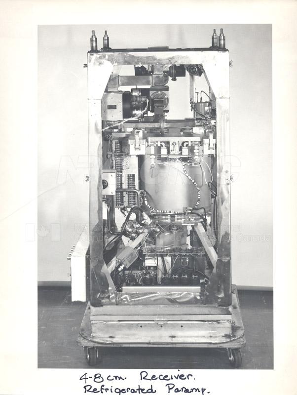 Astrophysics- 4-8 cm Receiver c.1969