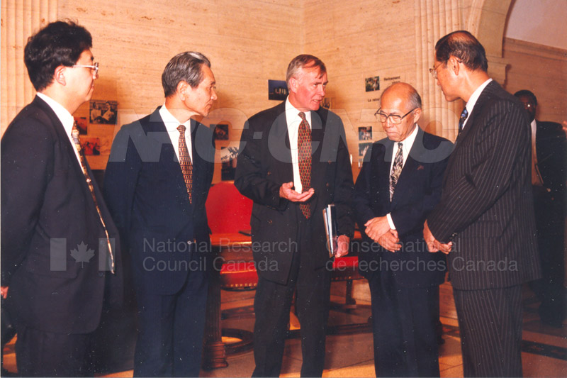 Agreement Signing RIKEN 23 Sept. 1997 003