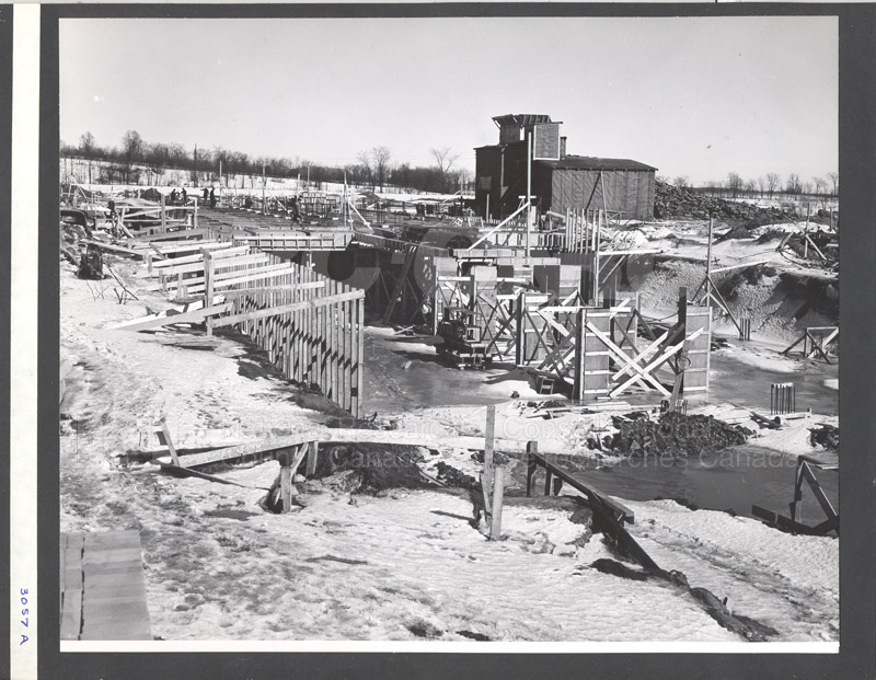Administration Building Construction 1950s 028