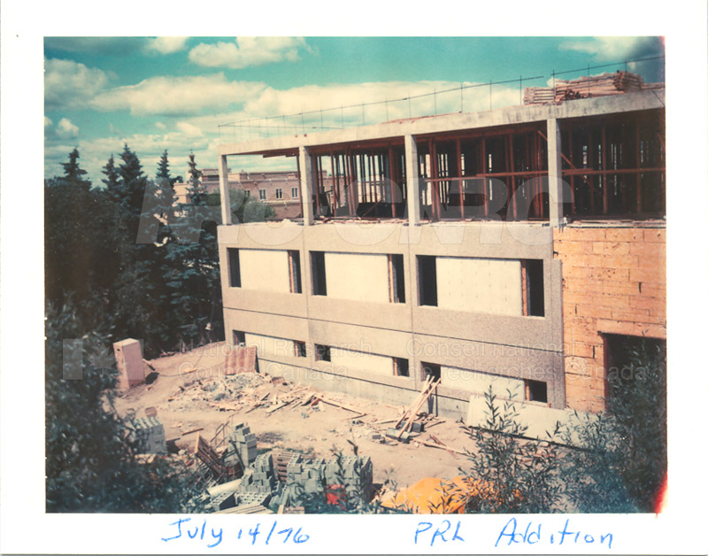 Building the Addition 1976 011