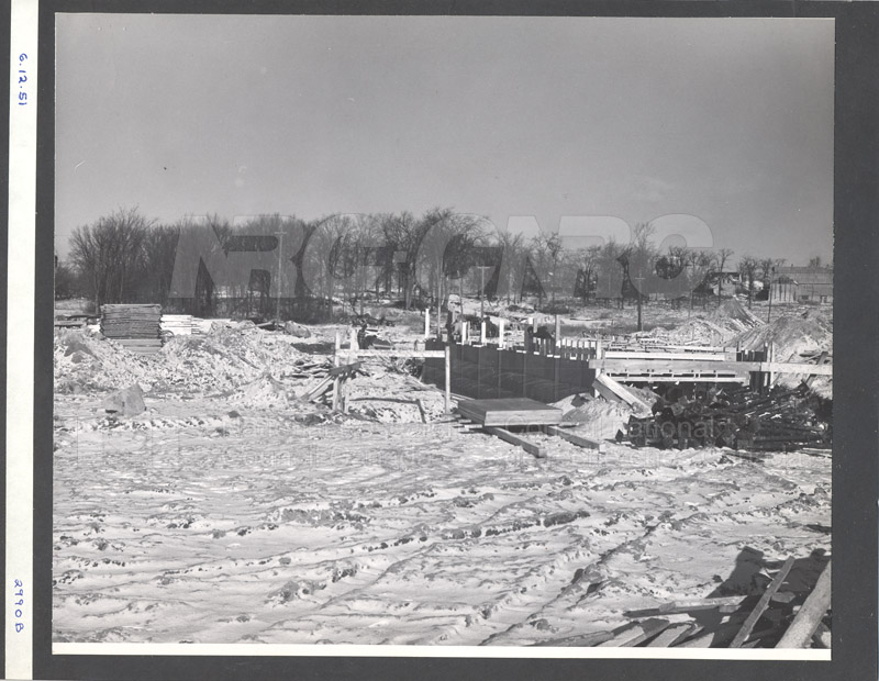 Administration Building Construction 1950s 008