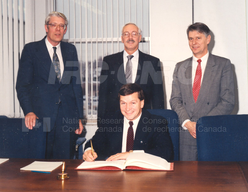 December 10 1992 NRC received Mr. Frank McKenna 001