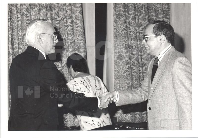25 Year Service Presentations Oct. 29 1986 025