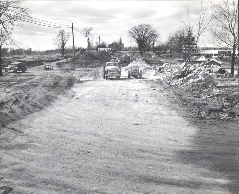 Construction of M-50 April 2 1953 #3381 004