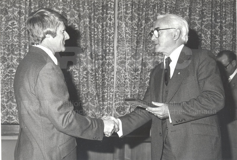 25 Year Service Plaques Presentations 1981 003