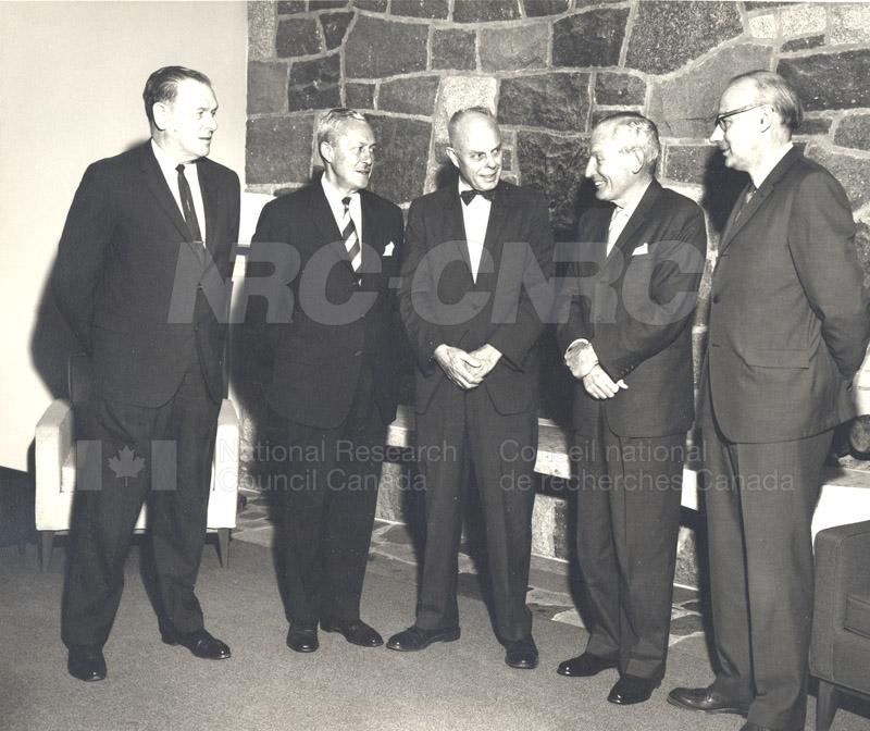 Canadian Patents & Development LMT Board of Directors June 1967, Jan. 1968 003
