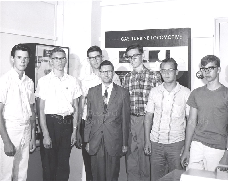 Visit of Summer Science Students 1965 001