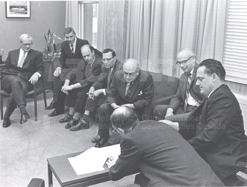First Collective Agreement with R.C.E.A. 1968 006