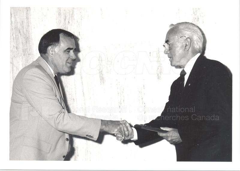25 Year Service Presentations June 8, 1988 015
