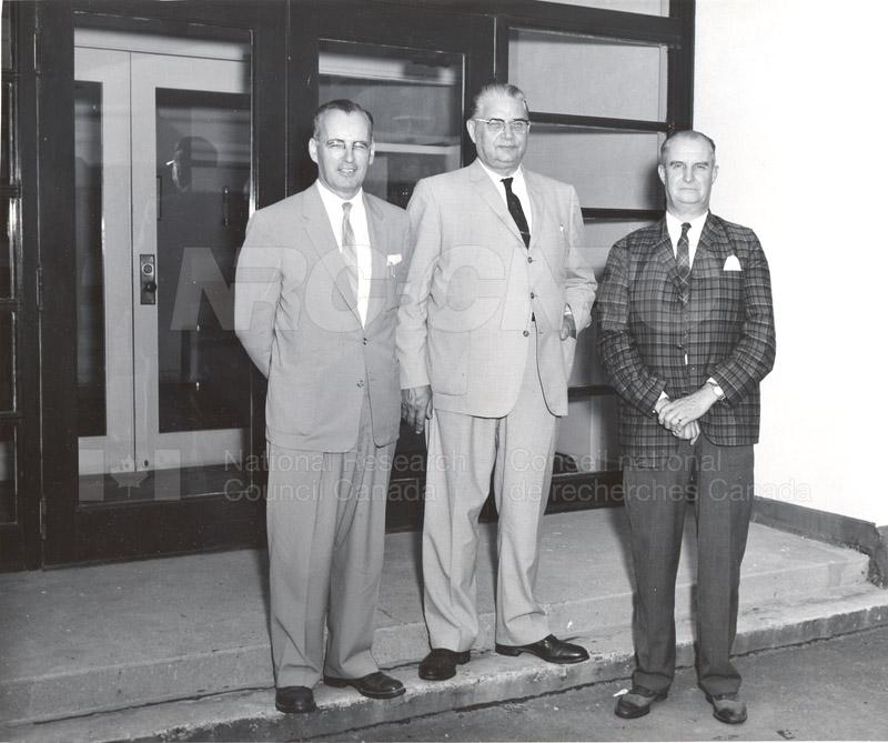 Premier W. Shaw Attorney-General PEI & Col. J.A. MacDonald M.P. 1960 001
