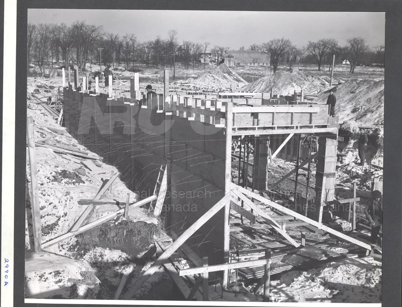 Administration Building Construction 1950s 015