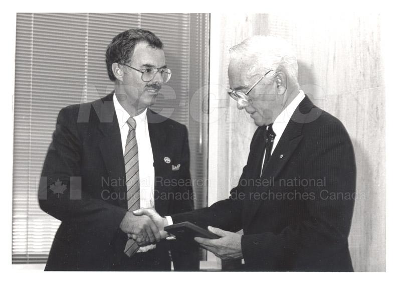 25 Year Service Presentation Sept. 12 1989 007