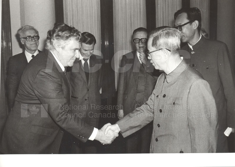 NRC Delegates meeting with Mr. Fang in the Great Hall of the People, China Oct. 13, 1983 004