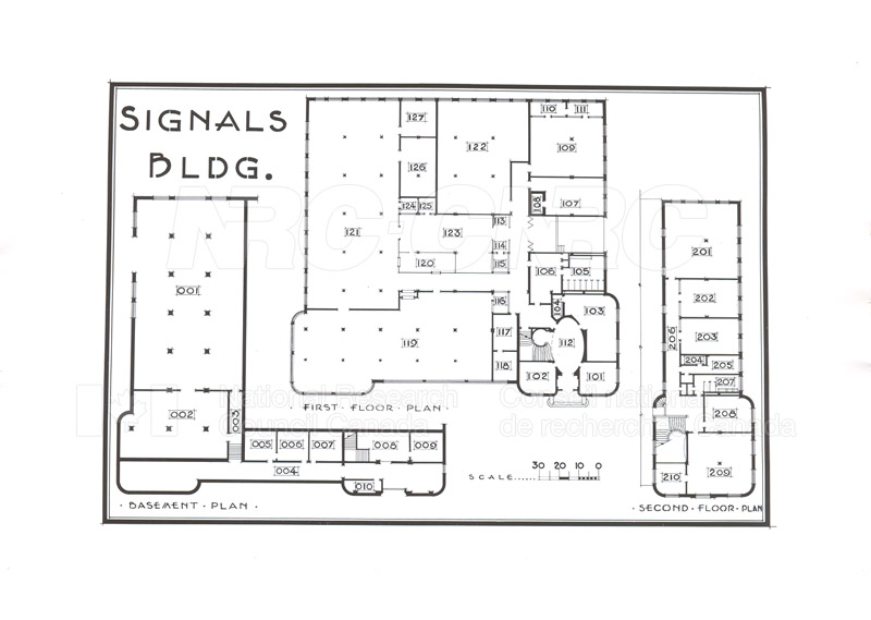 Buildings- Floor Plans Sept. 1948 004