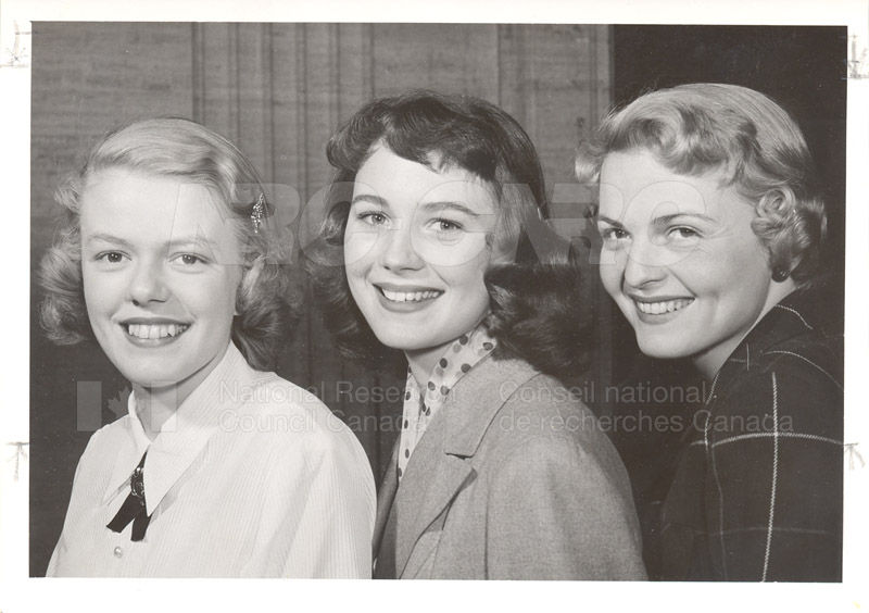 Queens of NRC June 1954