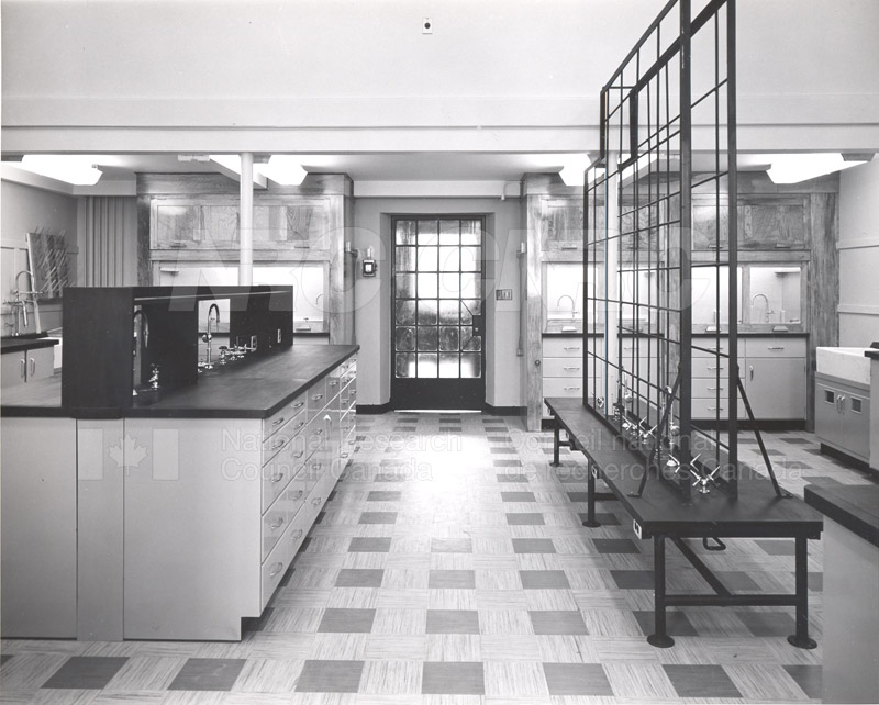 Lab Room 3143- Sussex Bldg. Completely Refitted 1954 001