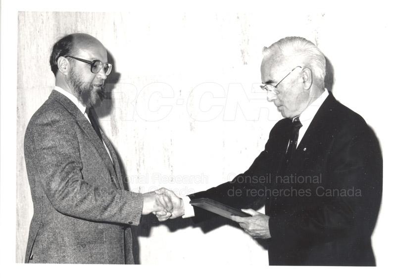 25 Year Service Presentations June 8, 1988 024