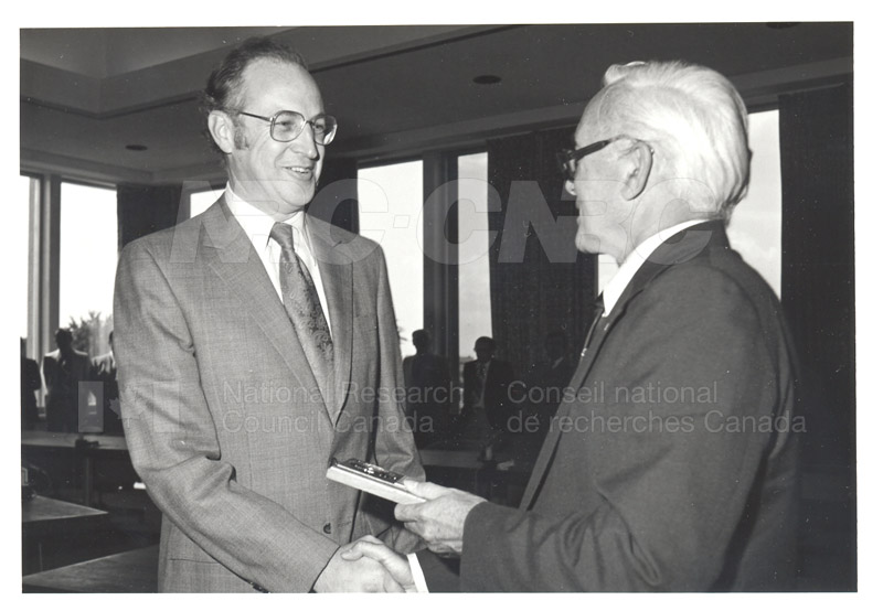 25 Year Service Plaques Presentations 1981 073