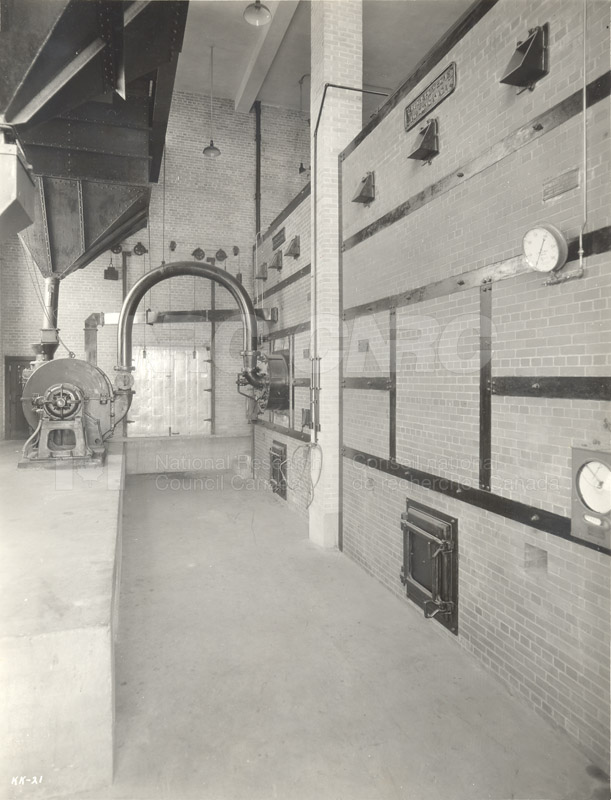 100 Sussex Drive- Sussex Basement Corridor (KK-21)