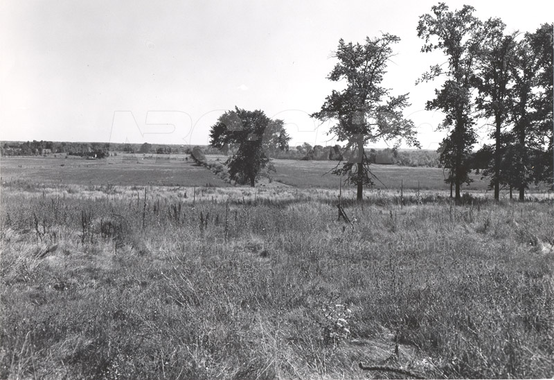 Site of Radio & E.E. Building (M-50) Before Construction- Mtl. Rd. Campus 001