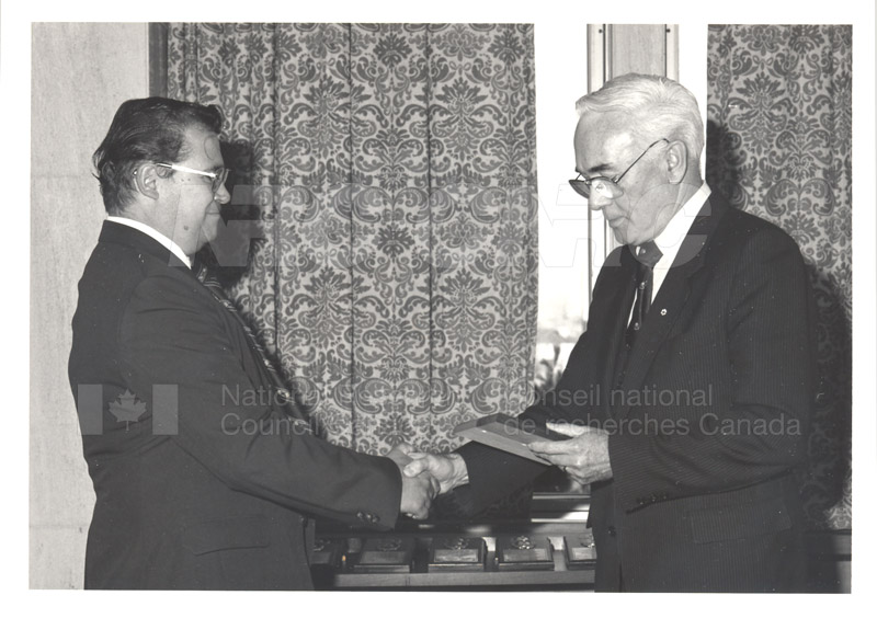 25 Year Service Presentations Nov. 1985 015