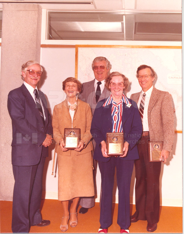 NRC Service Awards 1970's