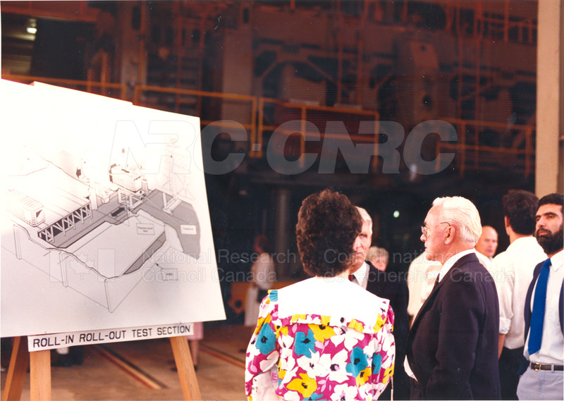 Opening of U-66 extention (NAE) 1988 004