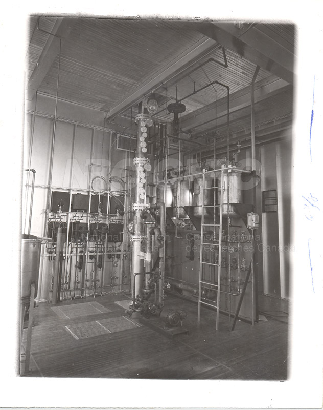 Distillation Column Recovery- Pilot Plant 1952