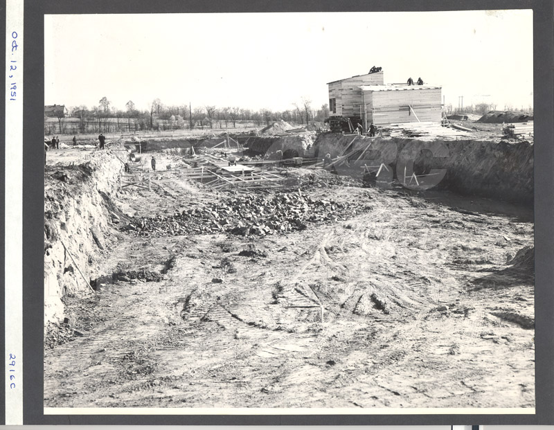 Construction of M-50 Oct. 12 1951 #2916 001