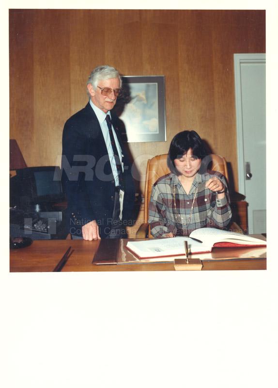 Dr. Sakamura - MITI Japan 1986 007