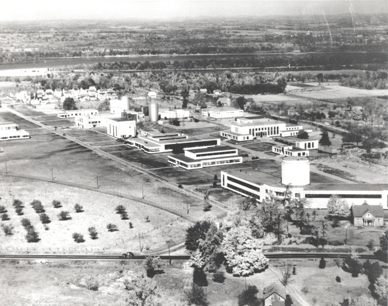Aerial Views of Montreal Rd. Labs 1959, 1965