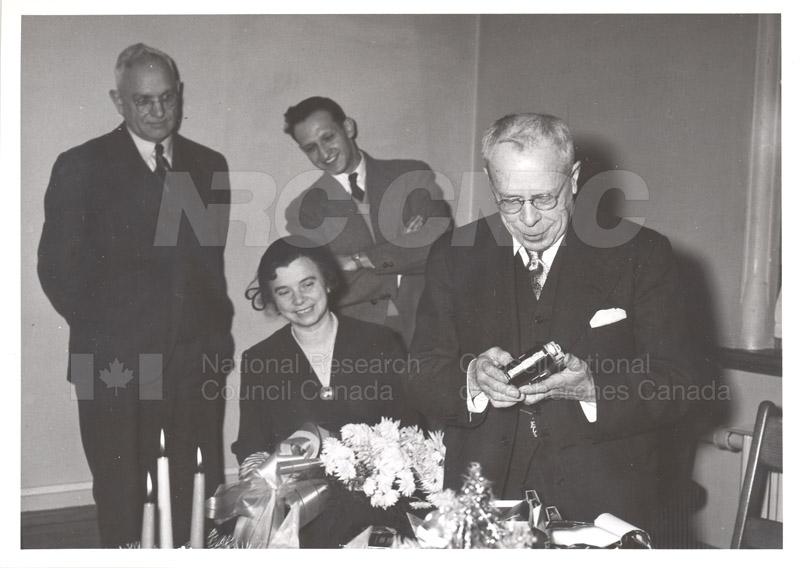 Ernie Hodgson Retirement c.1953 001