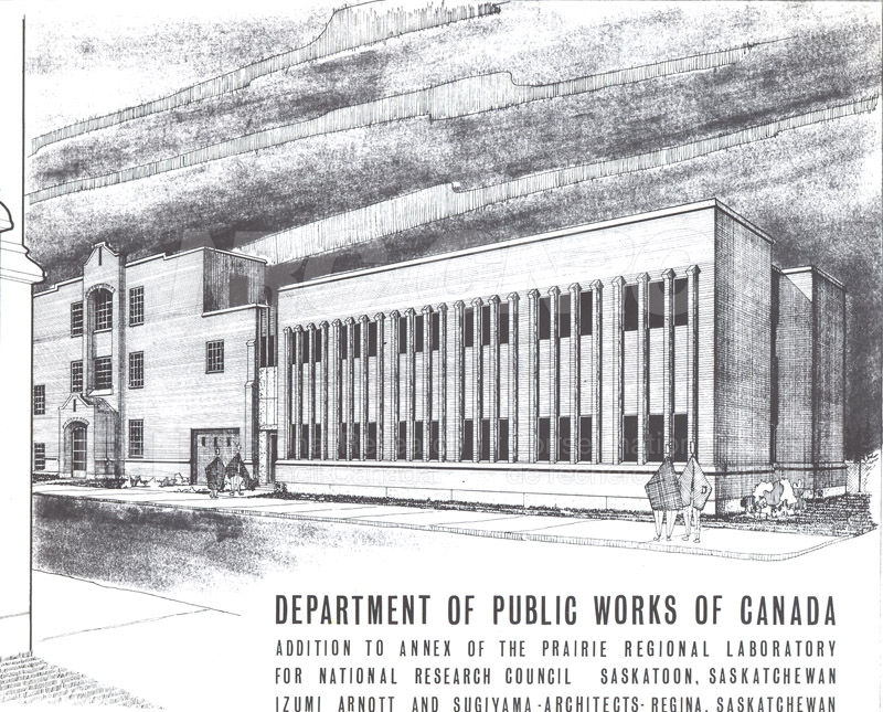 Addition to Annex of the Prairie Regional Lab Architect's Drawing n.d.