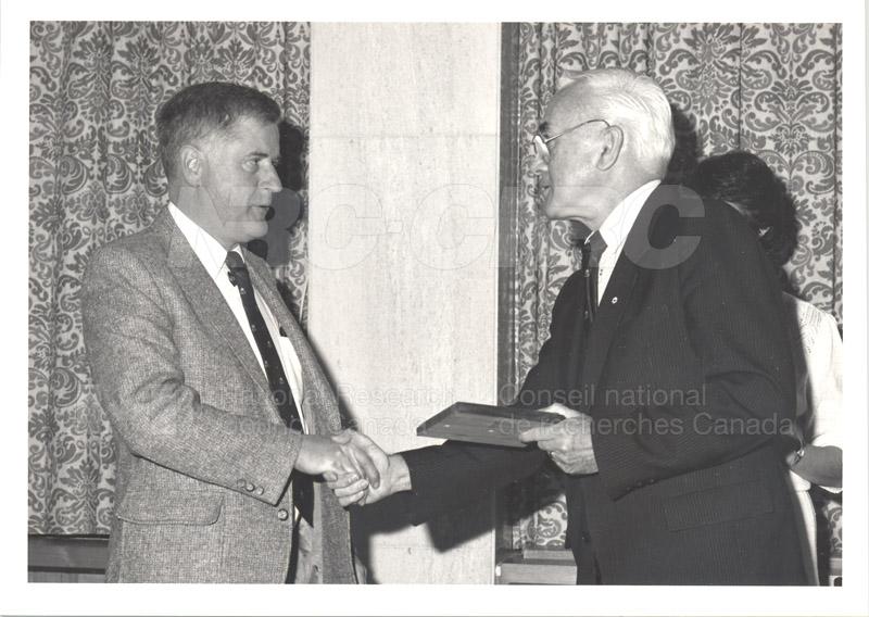 25 Year Service Presentations Nov. 1985 023