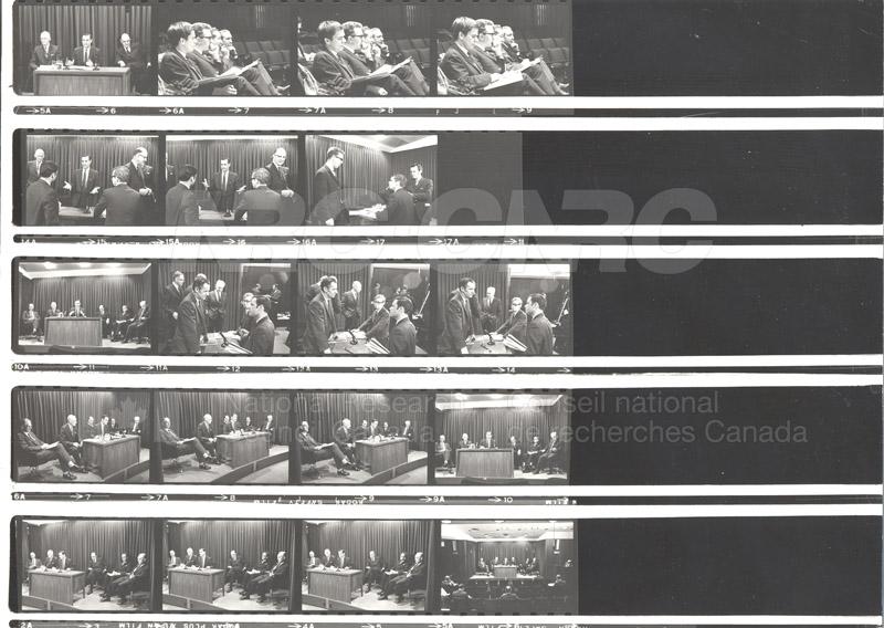 NRC Executive offices W.C. Schneider, F.K. Tupper 1968 002