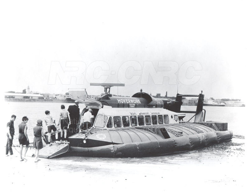 Associate Committee- Air Cushion Vehicle SRNG Hovercraft- Lachine Que. c. 1968