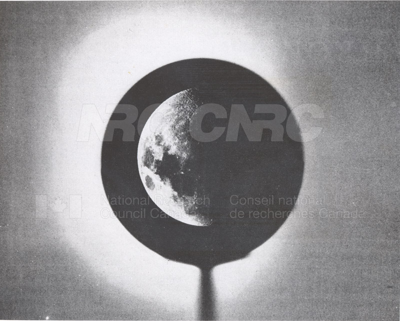 Photo of the Moon- Dominion Observatory- Markowitz Moon Camera 001