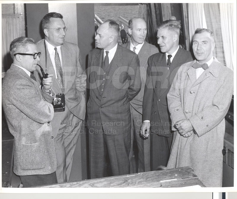 Visit of Dr. and Mrs. Ryder to NRC 1955 001