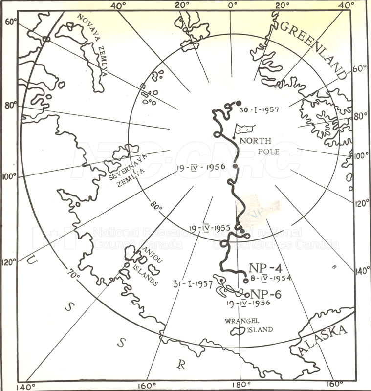 International Geophysical Year Visit to the North Jan. 30 1957 006