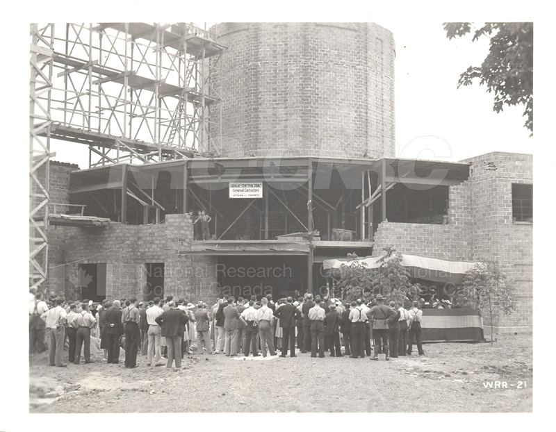 Aerodynamics Bldg -Annex- Laying the Cornerstone- July 25, 1940 006