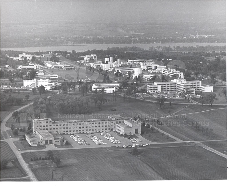 Montreal Road Campus Aerial View 1960's 001