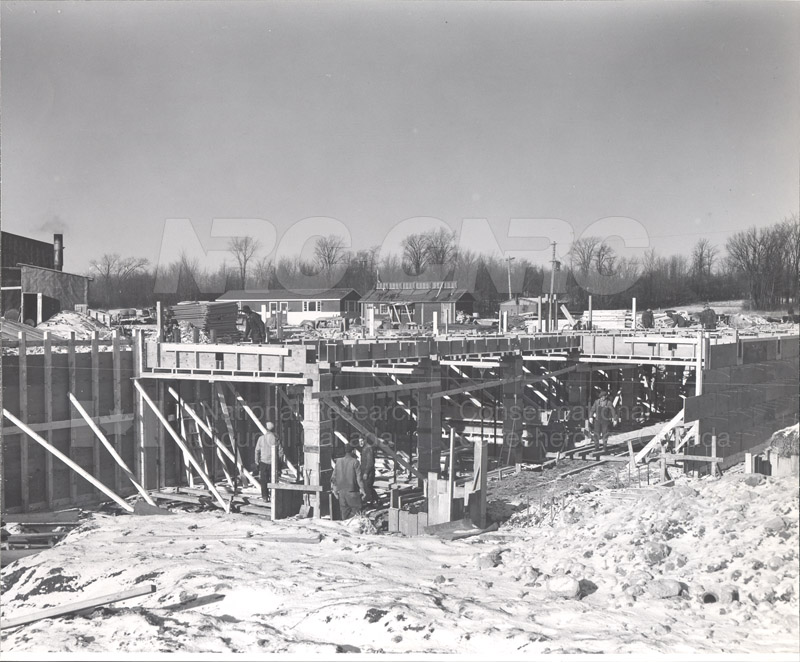 Administration Building Construction 1950s 007