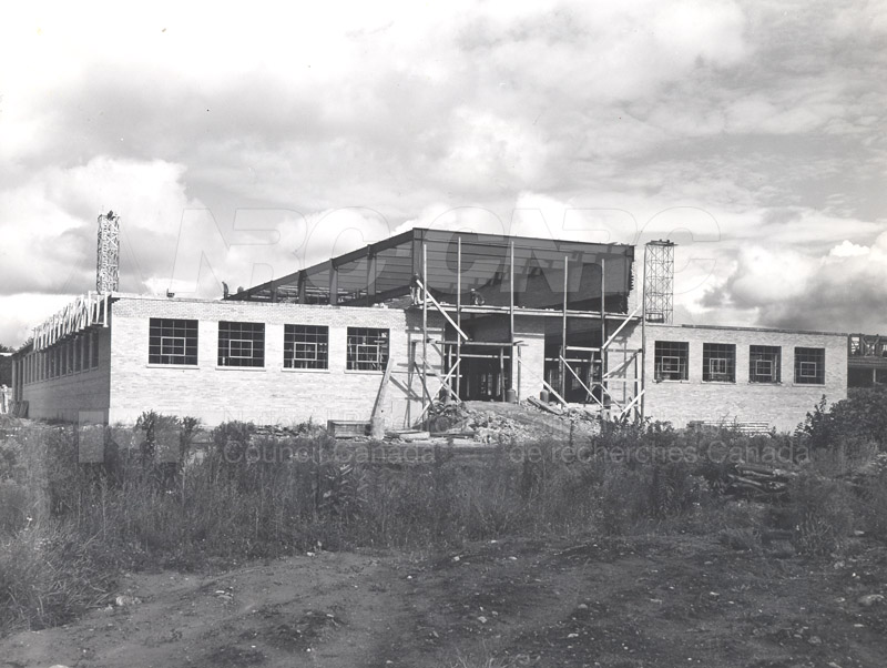 Administration Building Construction 1950s 024