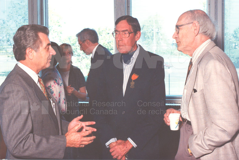 Canadian Society of Mechanical Engineering (CSME) honouring the Division of Mechanical Engineering 25 Aug. 1997 011