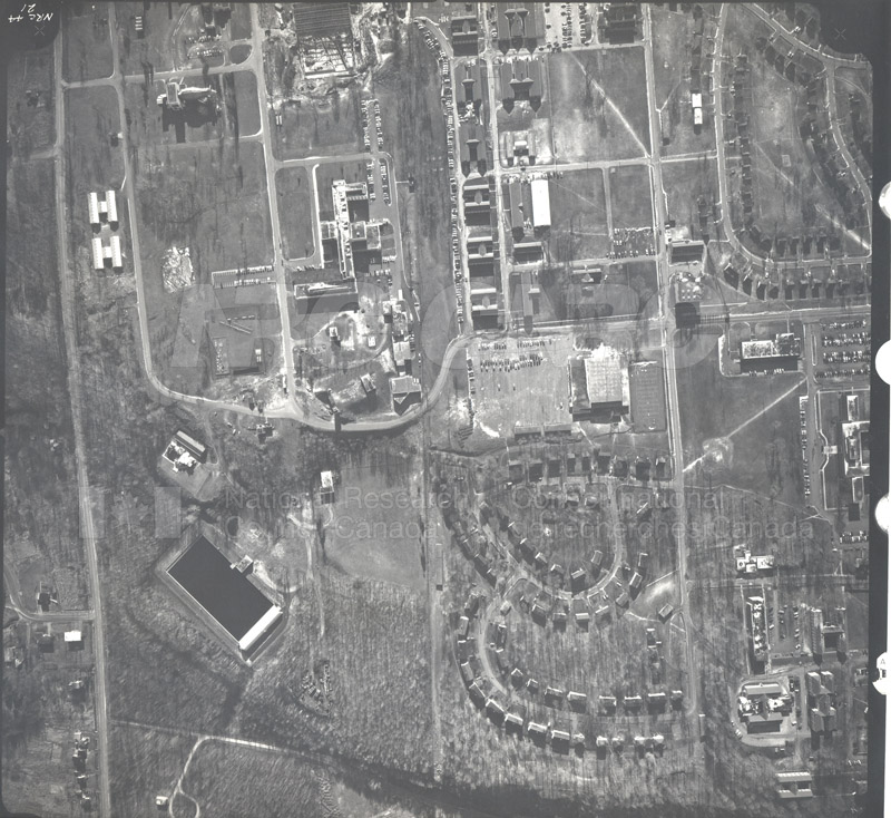Montreal Road Campus Aerial View 1944 001 pt.1