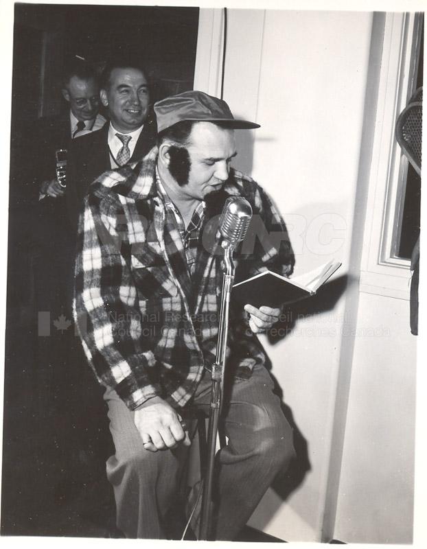 Radio Christmas Party December 23 1957 005
