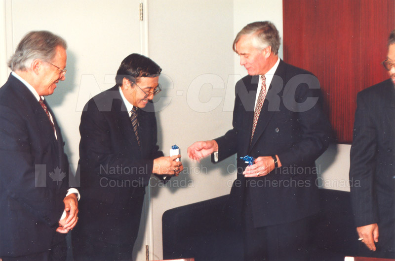 Agreement Signing Indonesian Institute of Sciences 10 Sept. 1997 001