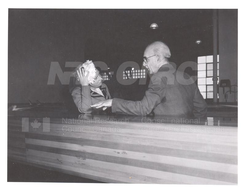 Queen Juliana Montreal Rd. Labs 23 April 1952 002