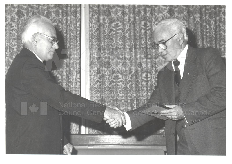25 Year Service Plaques Presentations 1981 022